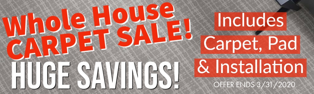 Whole House Carpet Sale