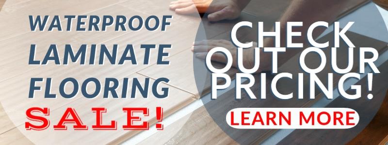 waaterproof laminate flooring sale