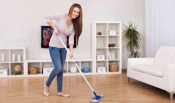 Laminate Floor Cleaning