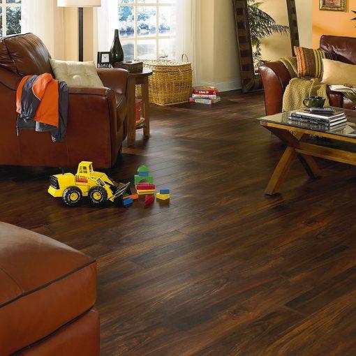 Acacia High Flooring in a Living Room