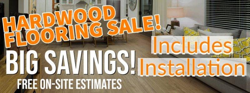 Hardwood Flooring Sale Maryland