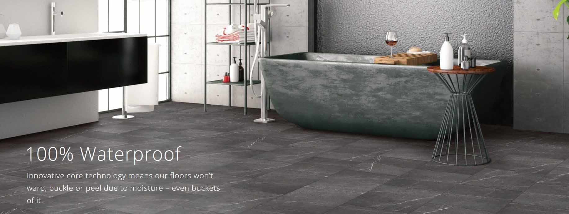 coretec water proof vinyl flooring