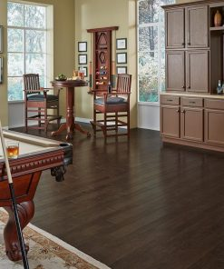 Mannington American oak leather Room Scene