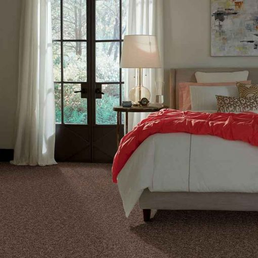 Cattail Flooring in a Bedroom