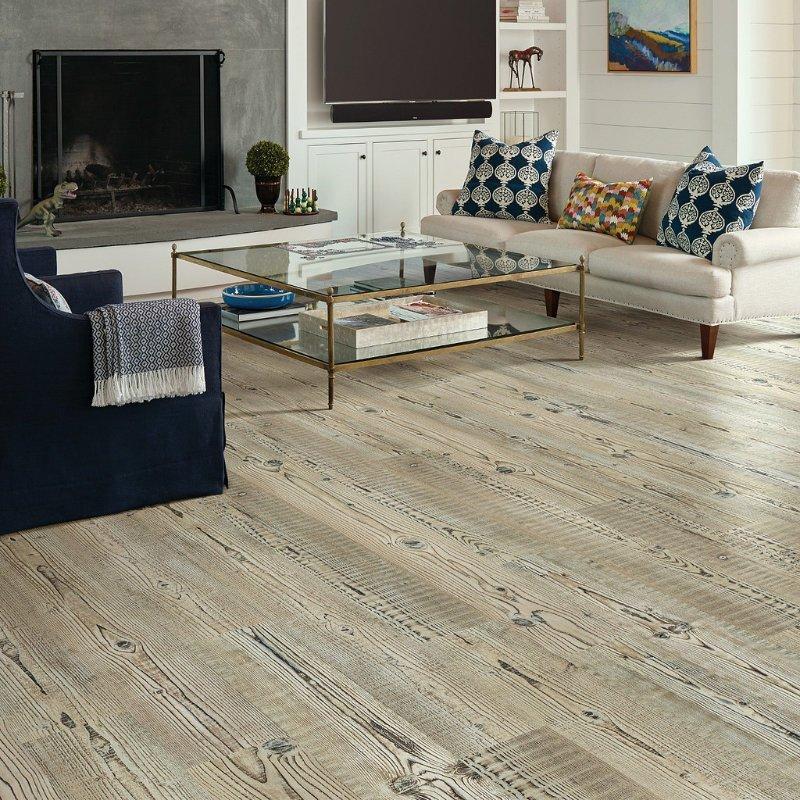 Accent Pine 07063 - Shaw Vinyl Flooring Full Room