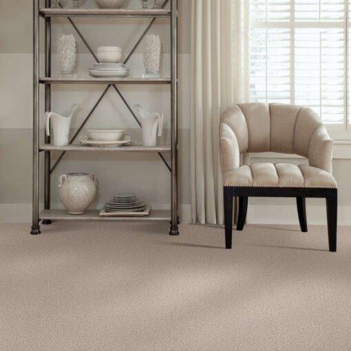 Butter Cream 00200 Carpet Full Room - Shaw Metro Court 12'