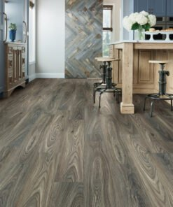 Dark Elm 00915 - Shaw Vinyl Flooring Full Room