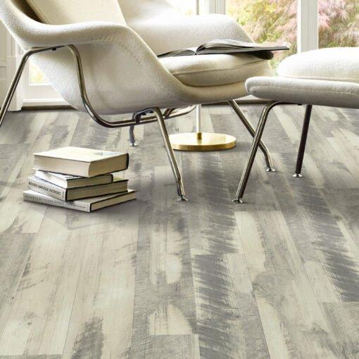 Gray Barnwood 00142 Vinyl Flooring Full Room