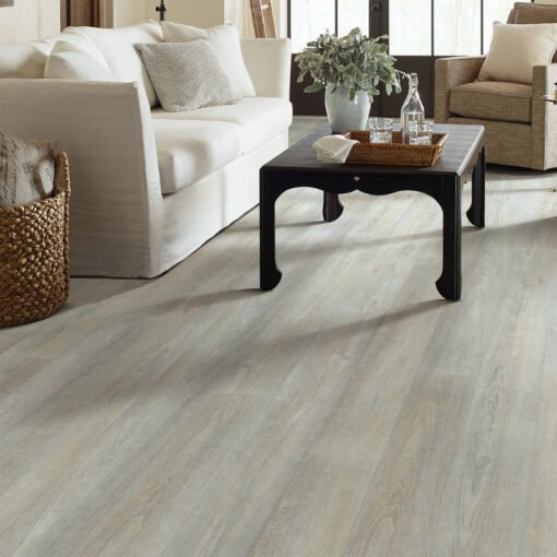 Greige Walnut 05078 - Shaw Vinyl Flooring Full Room