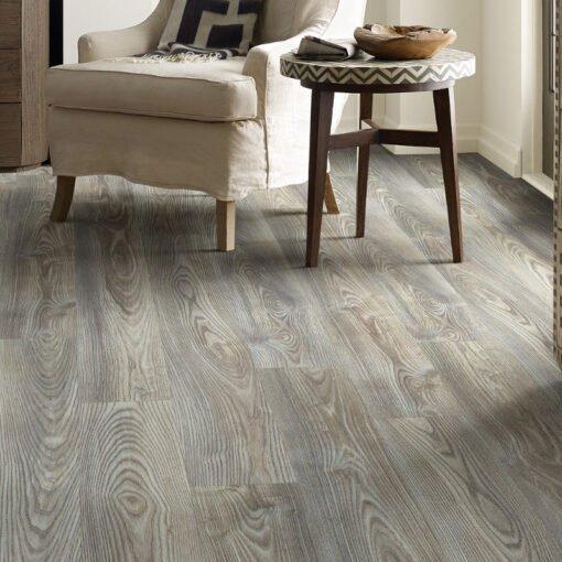 Grey Chestnut 07062 - Shaw Vinyl Flooring Full Room