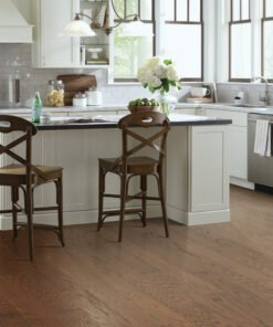 Hazelnut 00874 Hardwood Full Room - Shaw Albright Oak