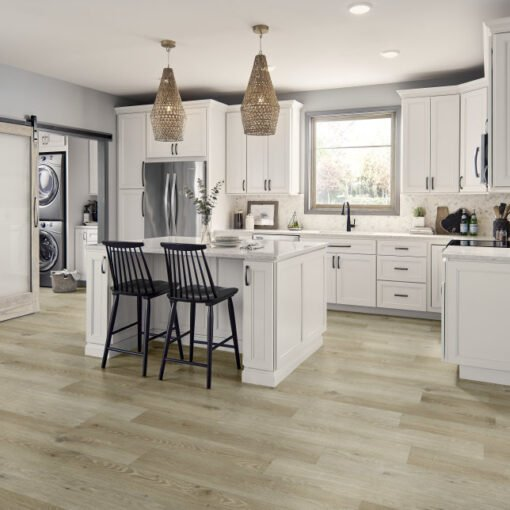 Paris Plank Chiffon RSP101 Vinyl Floor Full Room