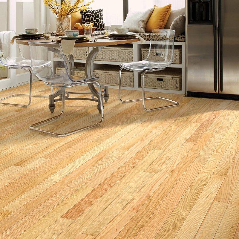 Red Oak Natural 00700 Hardwood Full Room - Shaw Bellingham