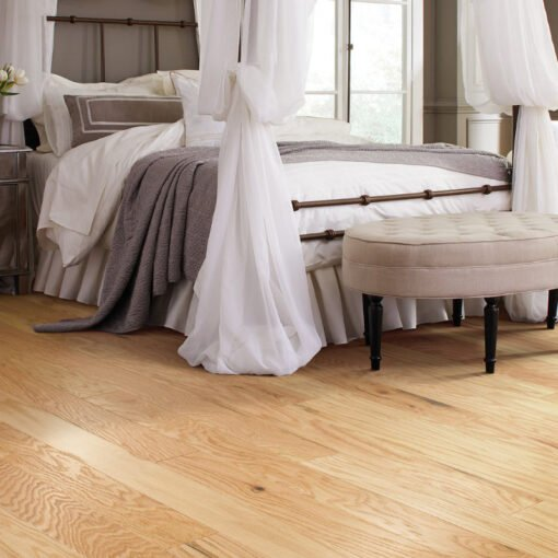 Rustic Natural 00135 Hardwood Full Room - Shaw Albright Oak