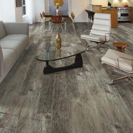 Smoky Oak 00556 Vinyl Flooring Full Room