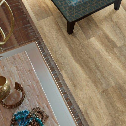 Tan Oak 00765 Vinyl Flooring Full Room