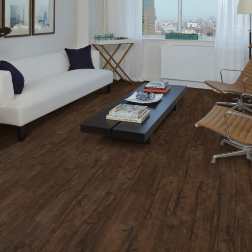 Umber Oak 00734 Vinyl Flooring Full Room
