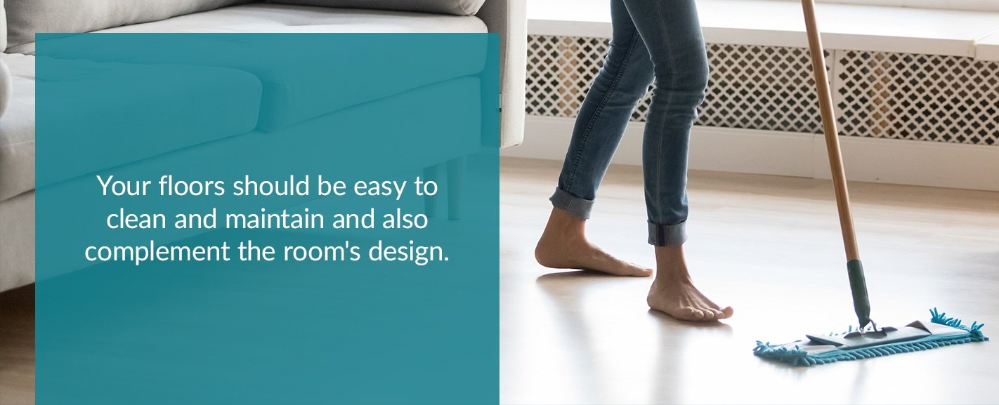 Research the Right Flooring for Each Room in the House