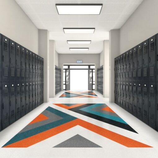Bay Blue 57541 Full Room - Standard Excelon - Armstrong Flooring