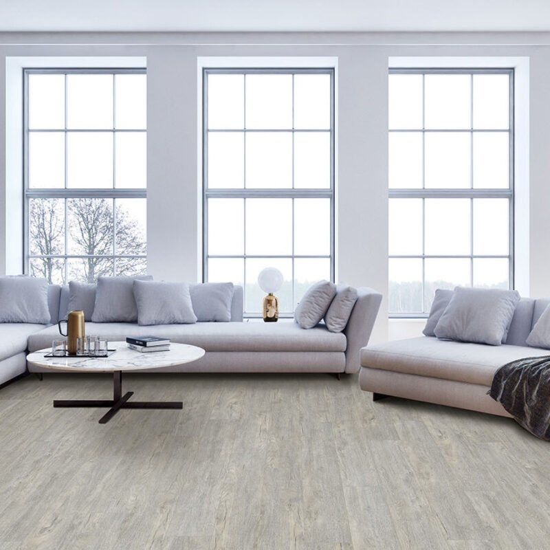 Beach Wood (#201) Full Room - Sar Vinyl Floors - Versailles Collection