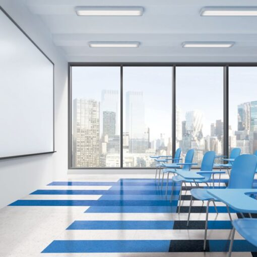 Bodacious Blue 57517 Full Room - Standard Excelon - Armstrong Flooring