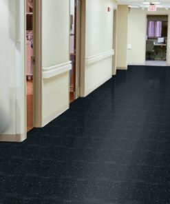 Classic Black 51910 Full Room - Standard Excelon - Armstrong Flooring