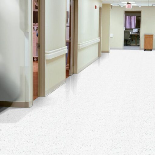 Classic White 51911 Full Room - Standard Excelon - Armstrong Flooring