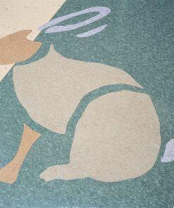 Doeskin Peach 51801 Full Room - Standard Excelon - Armstrong Flooring