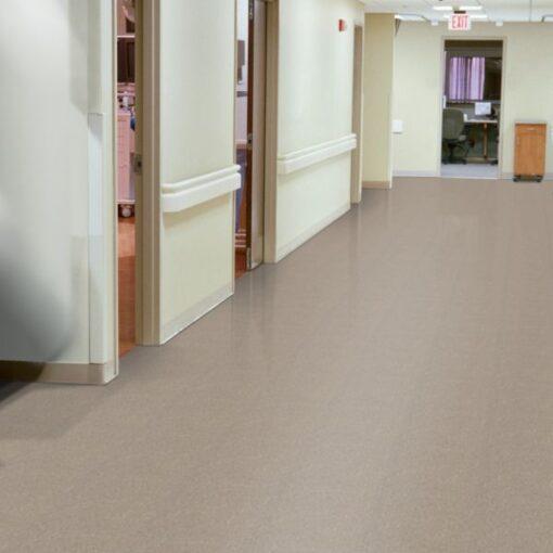 Earthstone Greige 51804 Full Room - Standard Excelon - Armstrong Flooring