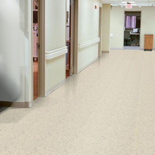Faire White 52520 Full Room - Standard Excelon - Armstrong Flooring