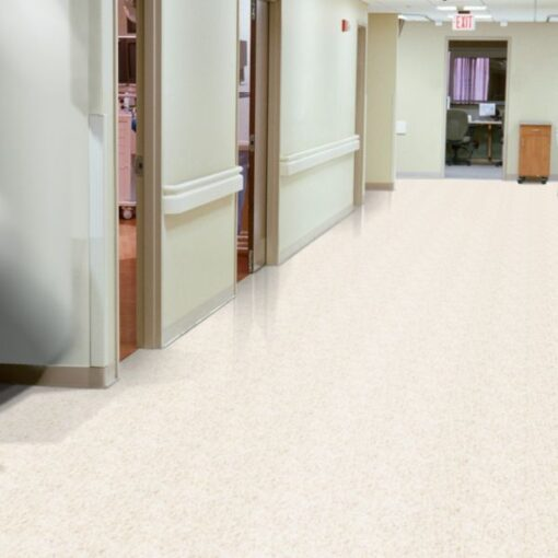 Fortress White 51839 Full Room - Standard Excelon - Armstrong Flooring