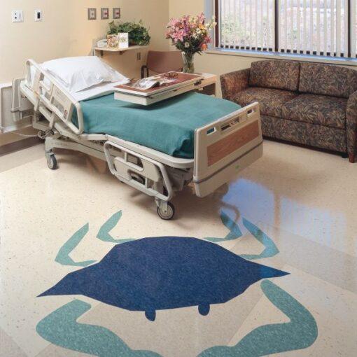 Gentian Blue 51946 Full Room - Standard Excelon - Armstrong Flooring