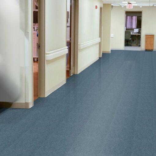 Grayed Blue 51874 Full Room - Standard Excelon - Armstrong Flooring