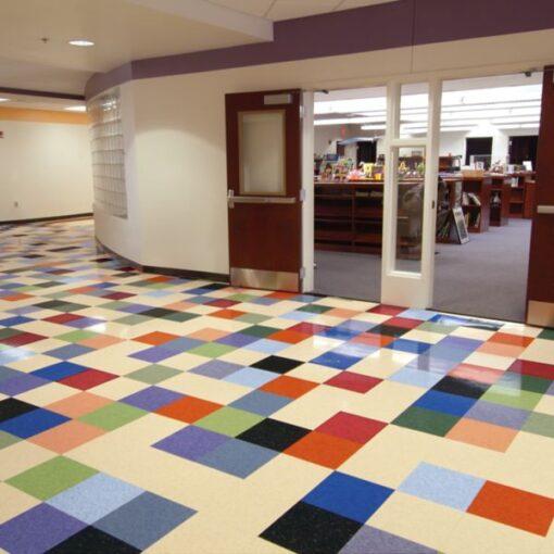 Lunar Blue 51932 Full Room - Standard Excelon - Armstrong Flooring