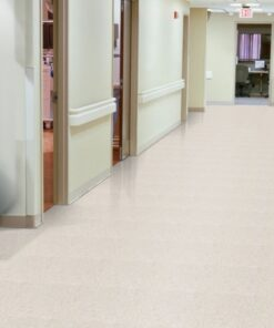 Pearl White 51803 Full Room - Standard Excelon - Armstrong Flooring