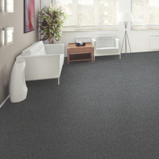 Pewter 949 Carpet Full Room - Rule Breaker - Aladdin Commercial