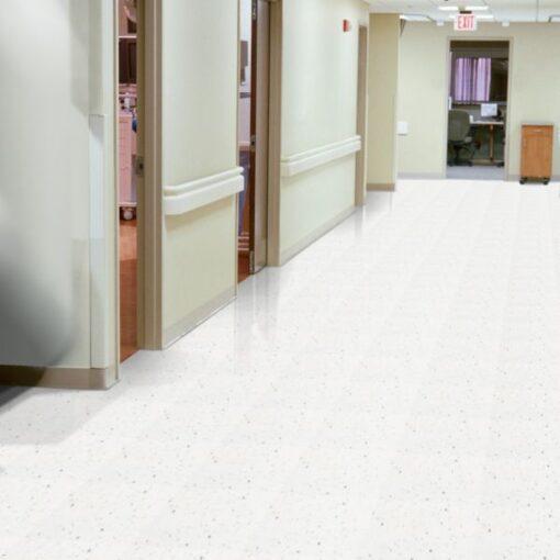 Polar White 51941 Full Room - Standard Excelon - Armstrong Flooring