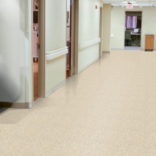 Sandrift White 51858 Full Room - Standard Excelon - Armstrong Flooring