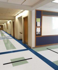 Shelter White 51836 Full Room - Standard Excelon - Armstrong Flooring