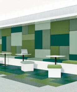 Tropical Green 57542 Full Room - Standard Excelon - Armstrong Flooring