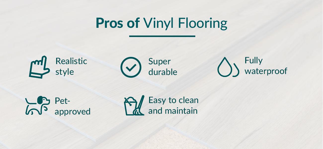 Pros of Vinyl Flooring