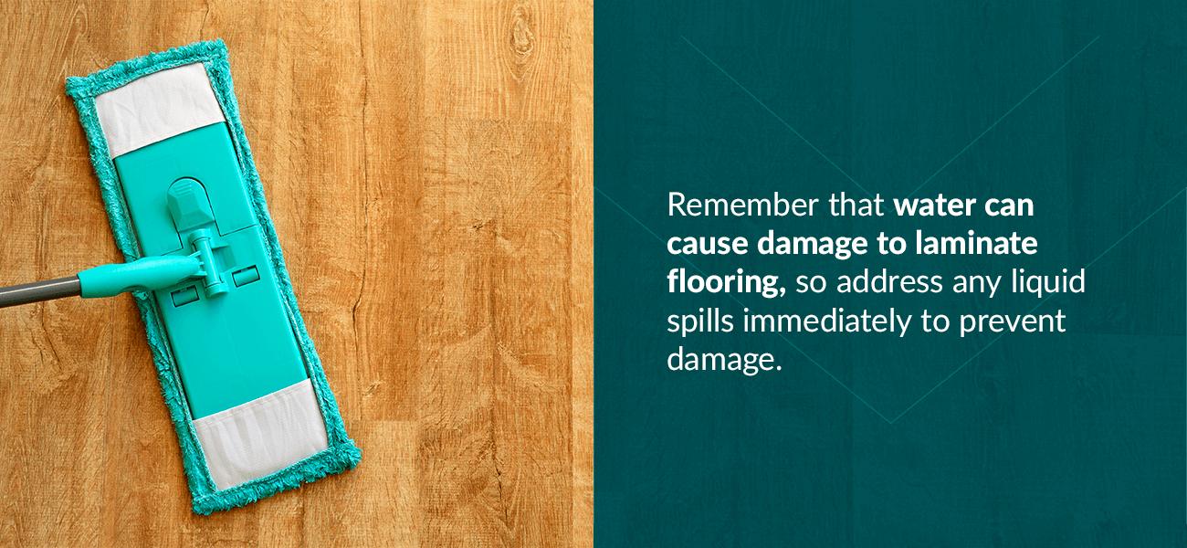 Water Can Damage Laminate Flooring